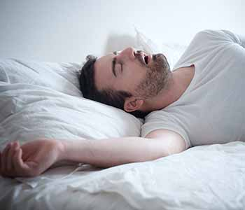 oral appliance therapy from your Irvine dentist can help with sleep apnea